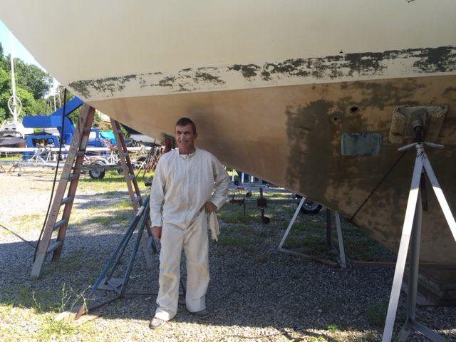 Istvan Kopar working on Puffin