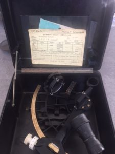 Donated 1968 Plath sextant