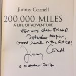 Jimmy Cornell Book Dedication